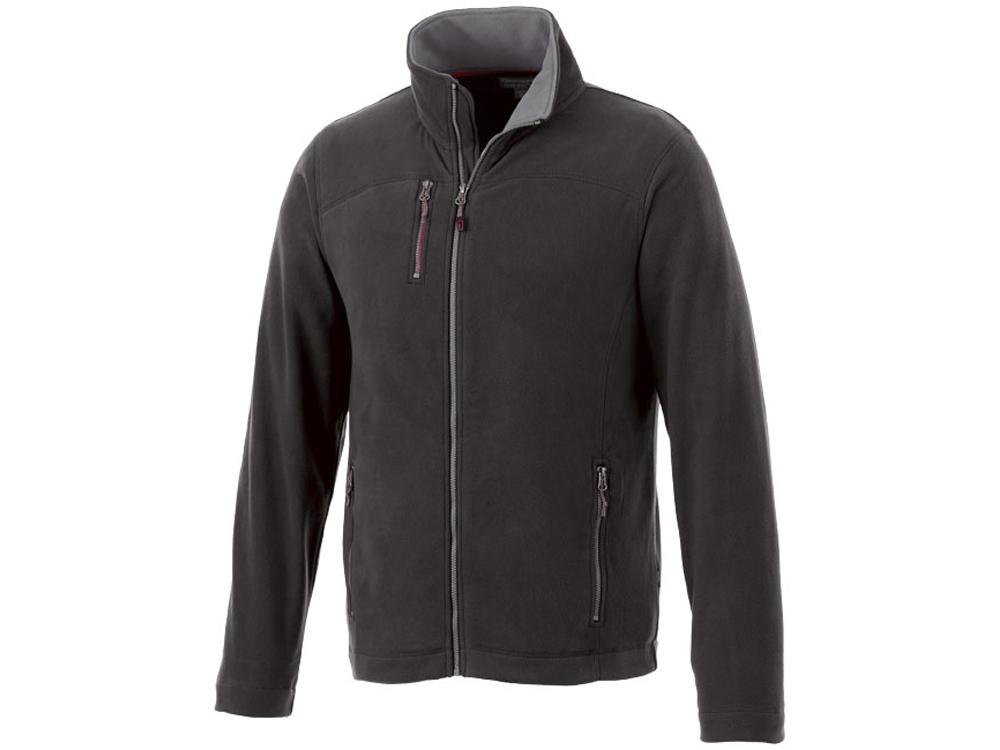 Микрофлисовая куртка Pitch, черный