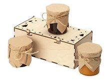 Подарочный набор с ассорти варенья «Trio Sweet» (арт. 700414)