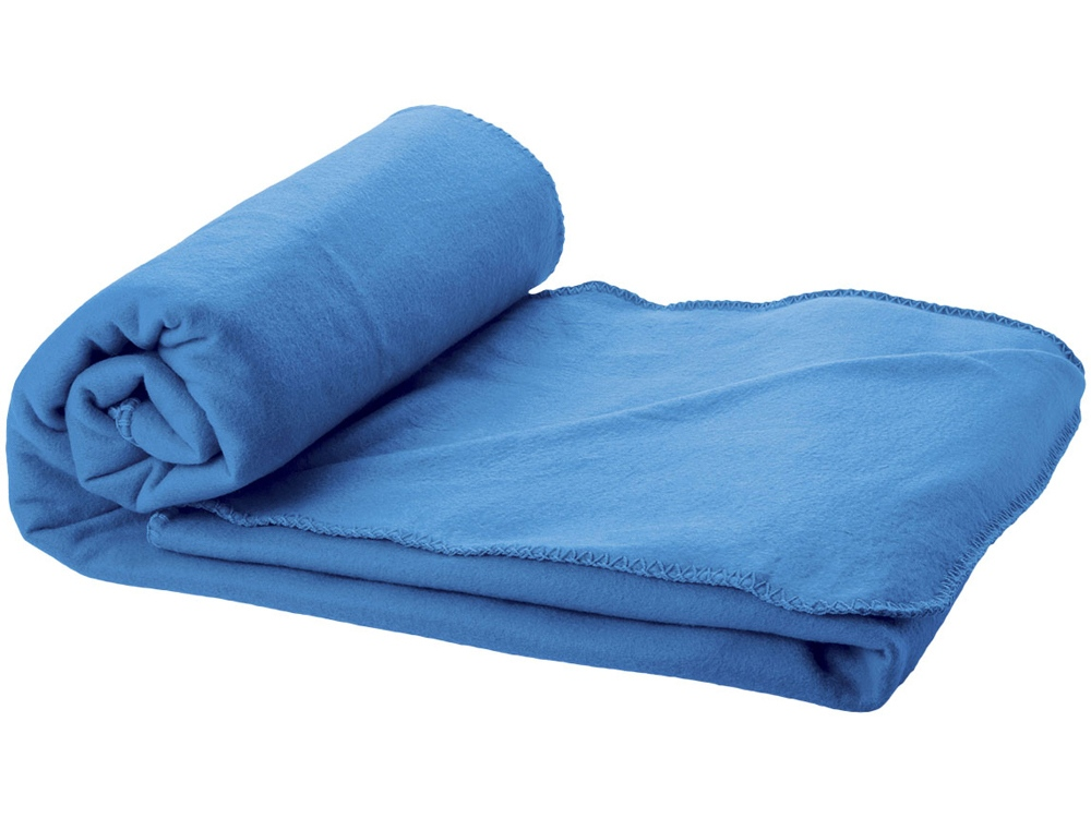 Плед Huggy в чехле, голубой