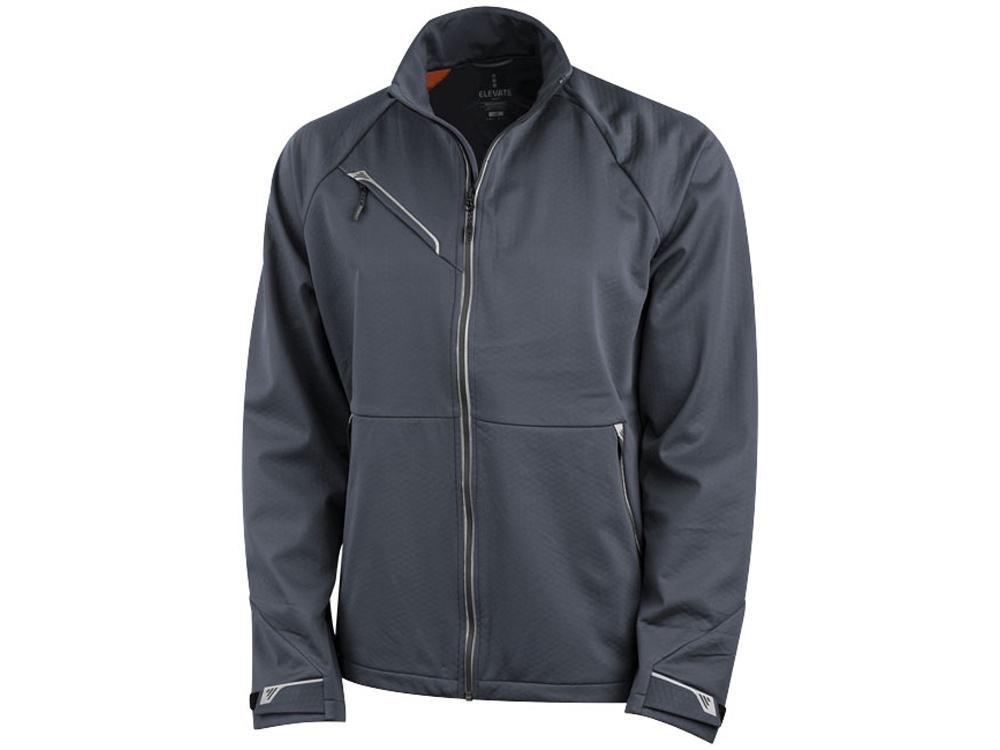 Куртка софтшел Kaputar мужская, темно-серый