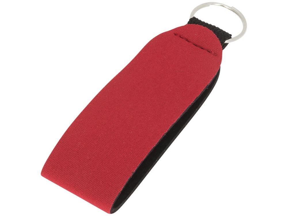 Бирка для ключа с кольцом Vacay, красный