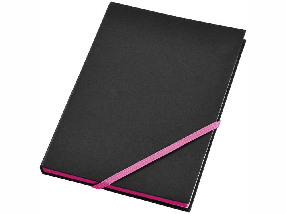 Блокнот А5 Travers, черный/розовый