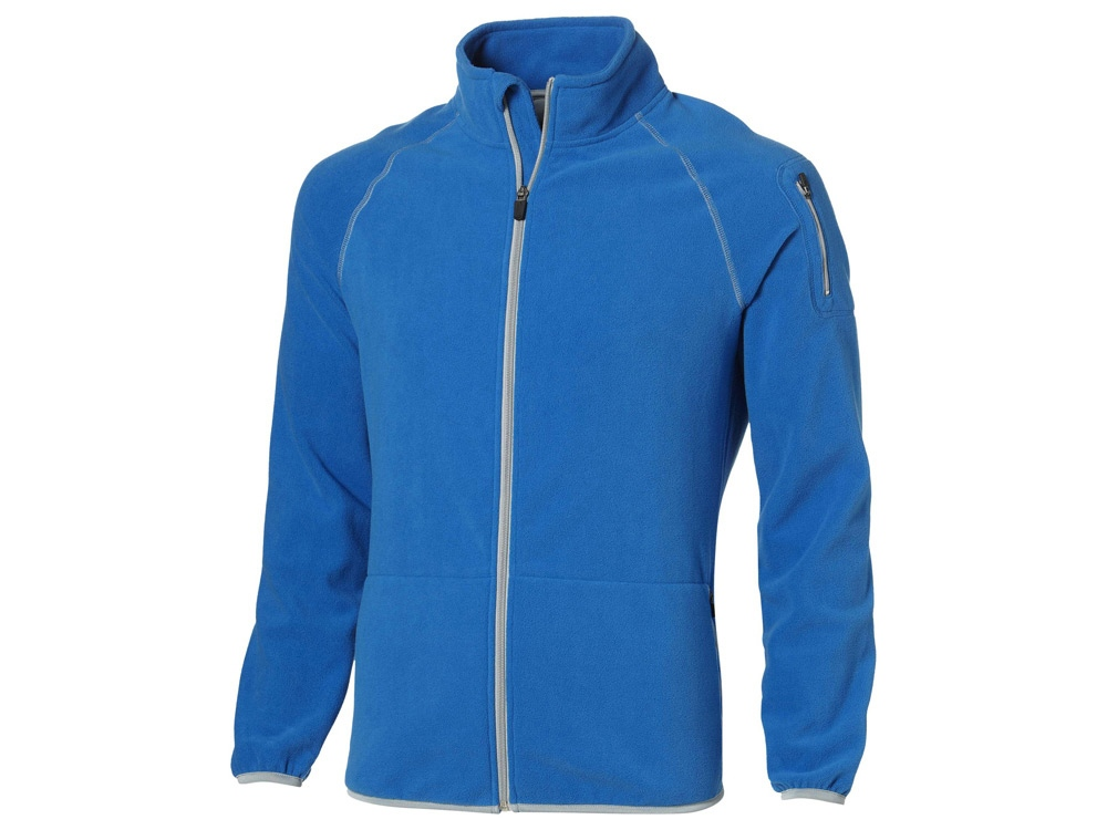 Куртка Drop Shot из микрофлиса мужская, небесно-голубой