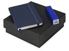 Подарочный набор To go с блокнотом А6 и зарядным устройством (арт. 700309.02)