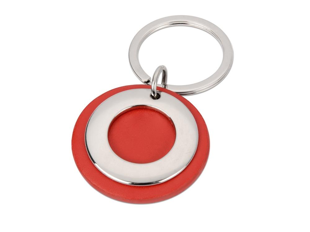 Брелок Корал-Спрингс, красный/серебристый