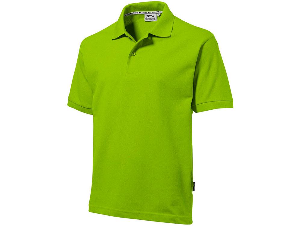 Рубашка поло Forehand мужская, зеленое яблоко