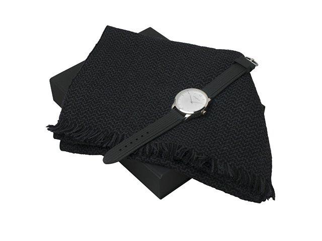 Подарочный набор Celso: шарф, часы наручные мужские (арт. UPEN621)