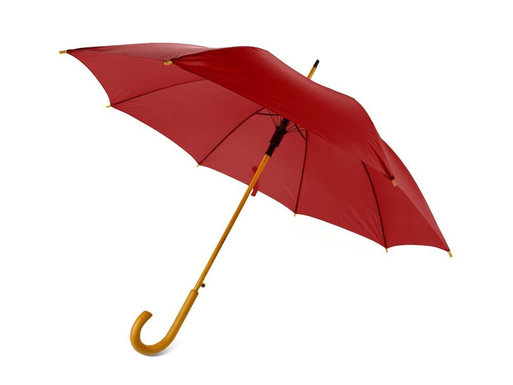 Зонт-трость Радуга, красный