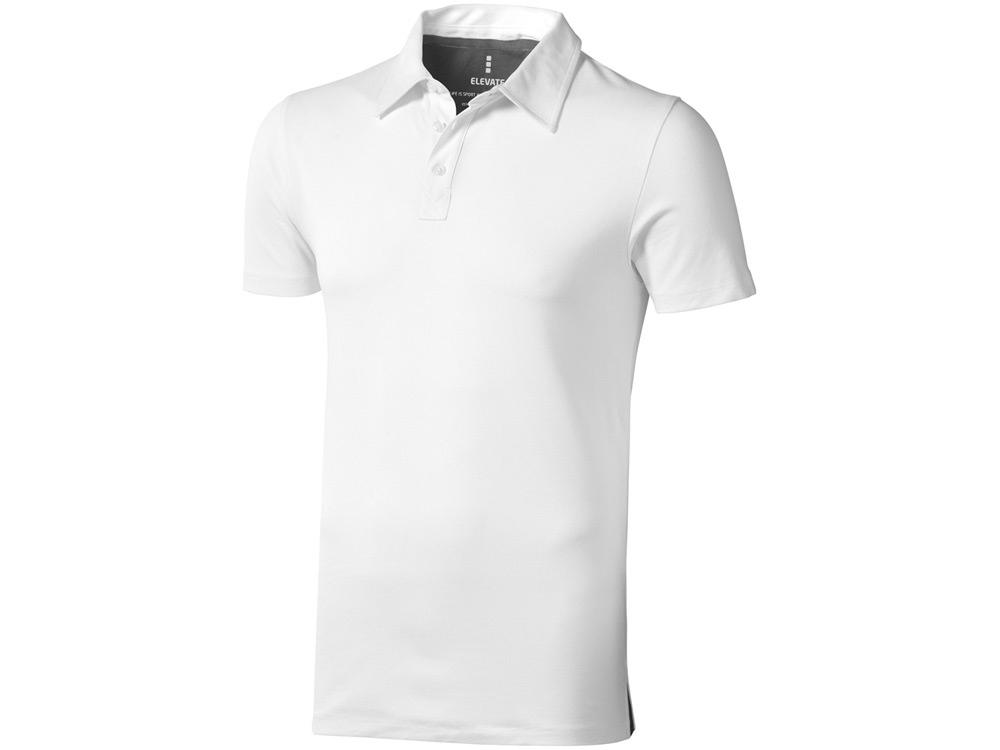 Рубашка поло Markham мужская, белый/антрацит