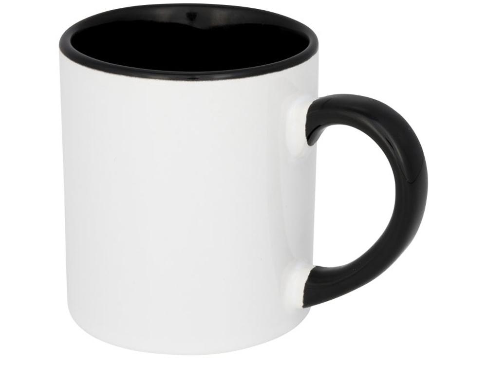 Цветная мини-кружка Pixi для сублимации, черный