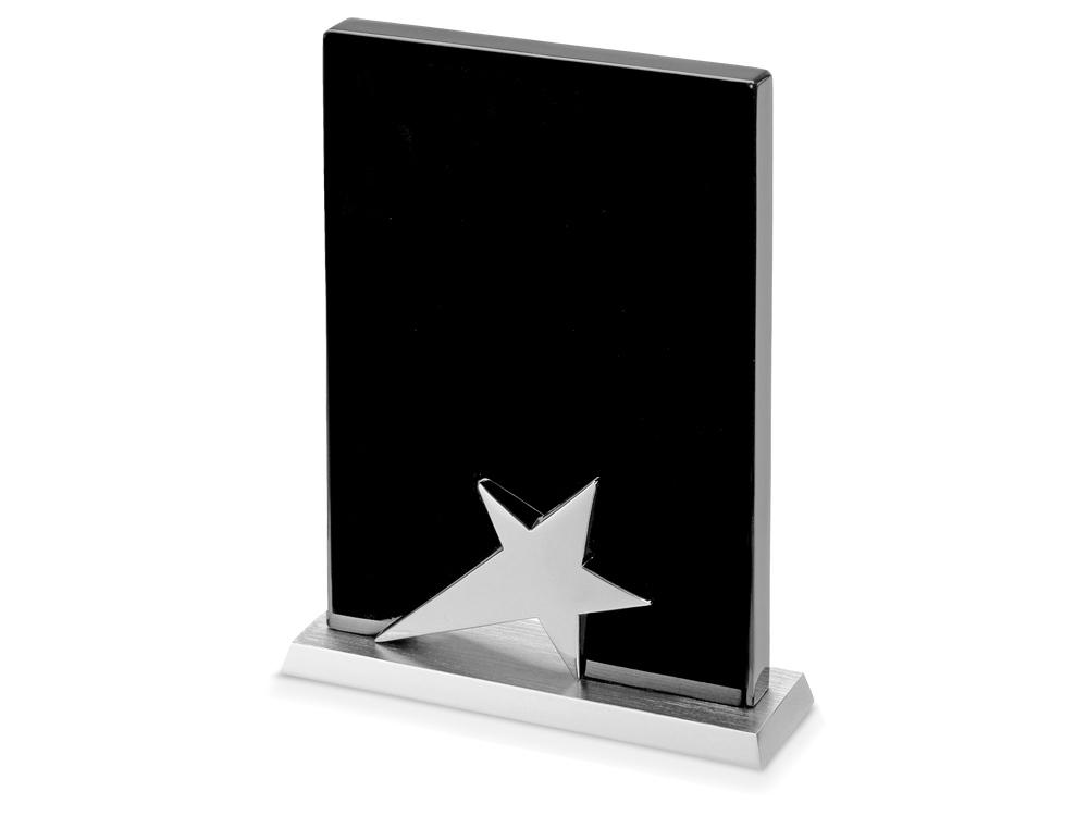 Плакетка Звезда, черный