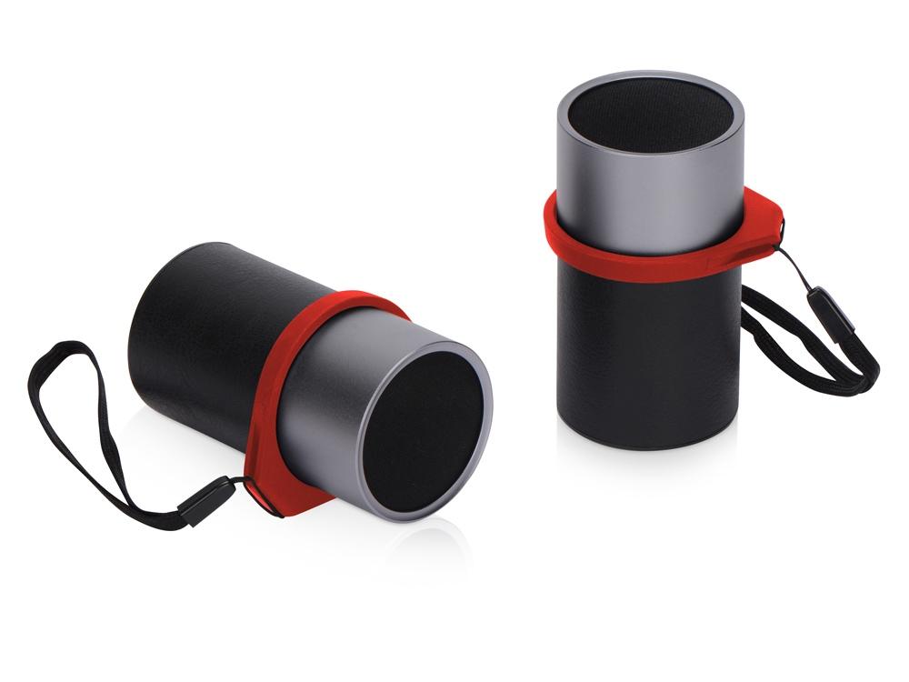 Портативные парные колонки Qjet Mates с красными кольцами