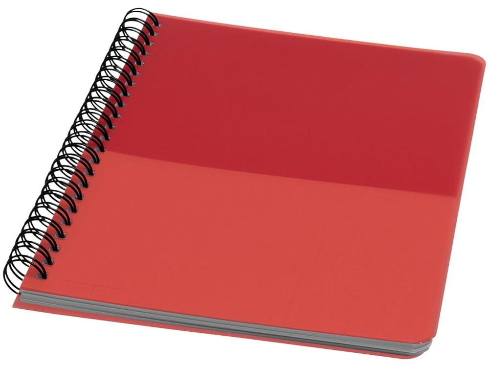 Блокнот ColourBlock А5, красный