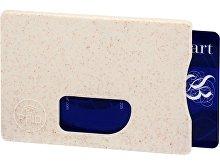 Чехол для карточек RFID «Straw» (арт. 13510100)