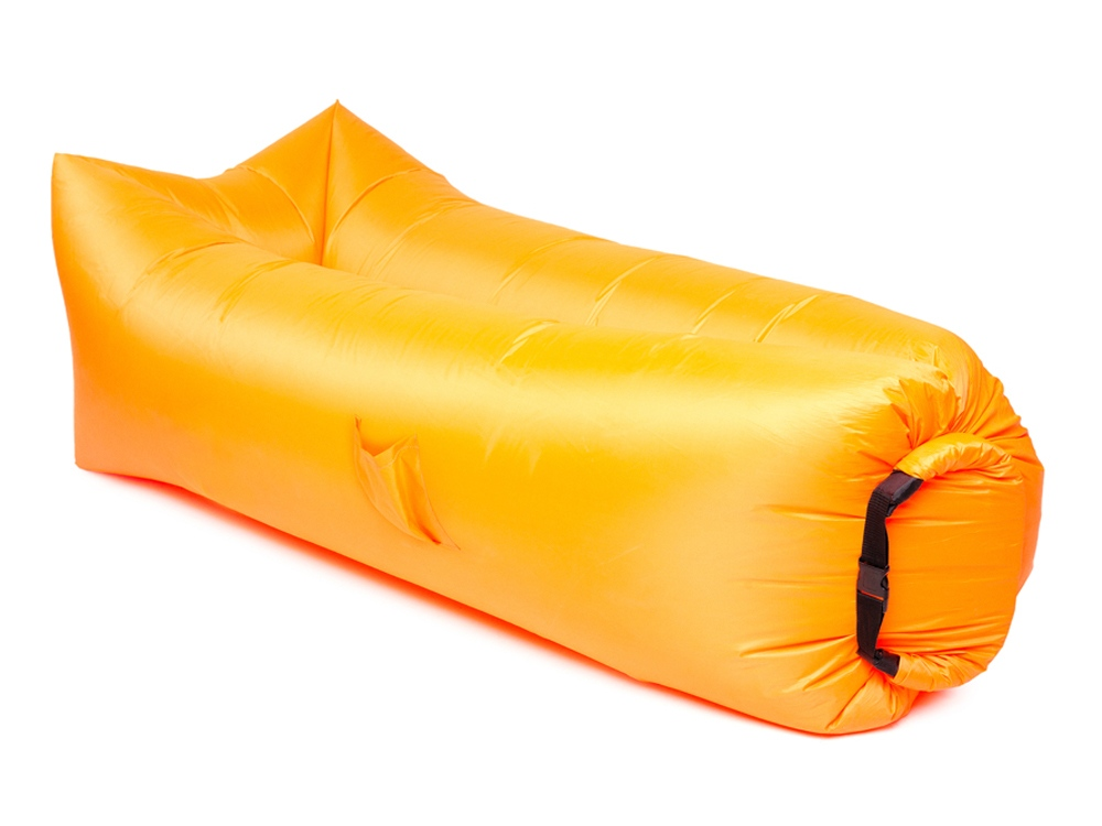 Надувной диван БИВАН 2.0, оранжевый