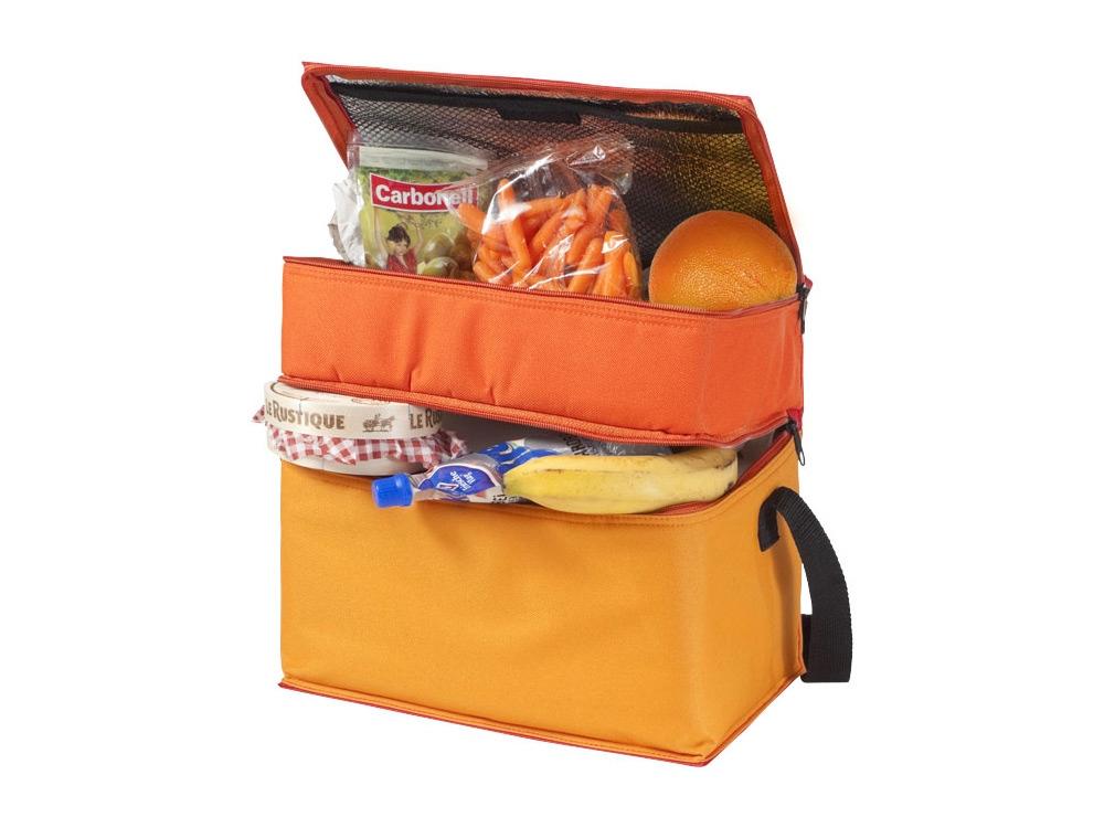 Сумка-холодильник Trias, красный/оранжевый/желтый