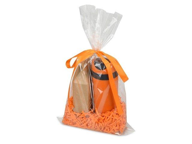 Подарочный набор «Tea Cup Plus» с чаем, оранжевый
