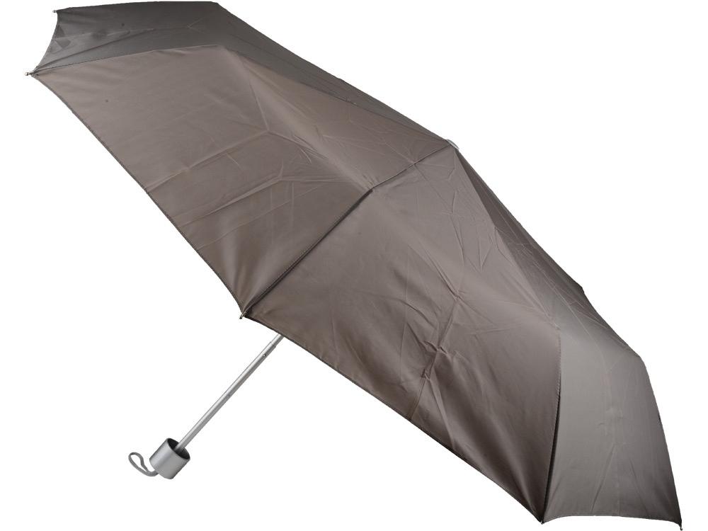 Зонт складной механический Сан-Леоне, серый