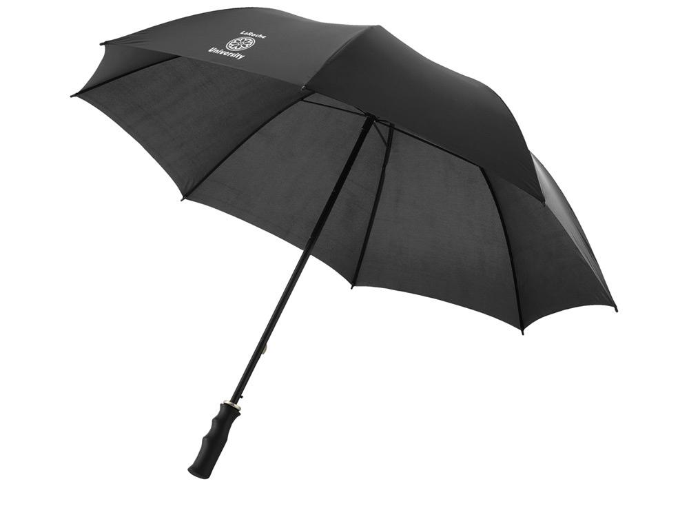 Зонт Barry 23 полуавтоматический, черный