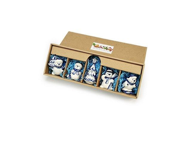 Набор новогодних игрушек (арт. 82811)
