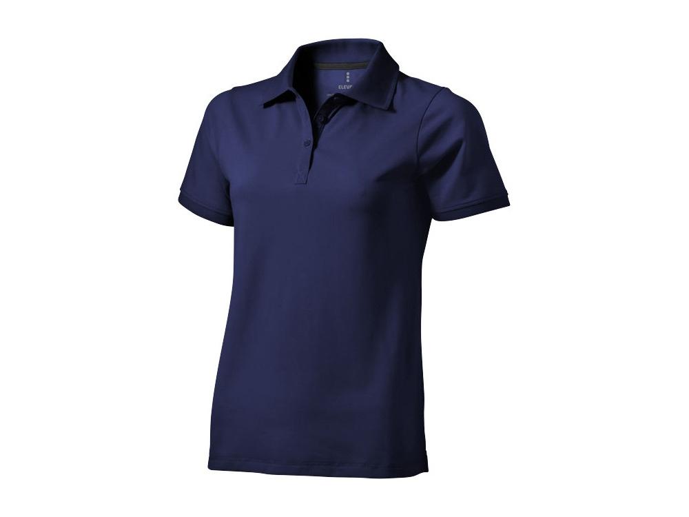 Рубашка поло Yukon женская, темно-синий