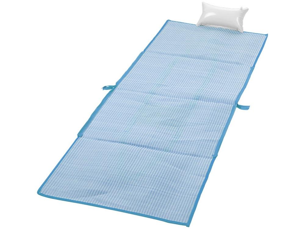 Пляжная складная сумка-тоут и коврик Bonbini, голубой