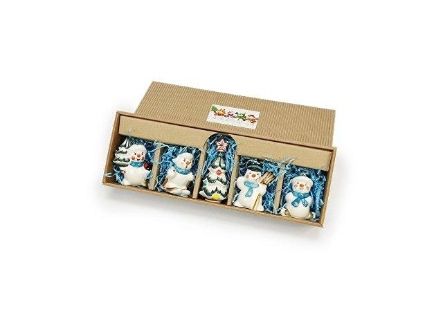 Набор новогодних игрушек (арт. 82810)