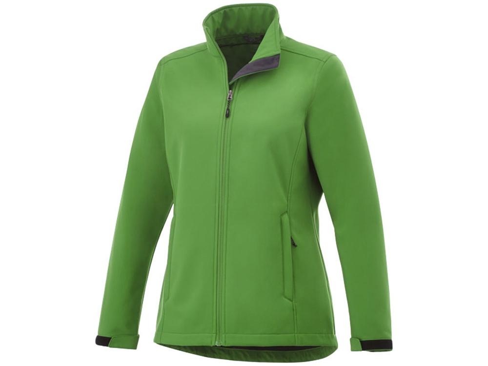 Куртка софтшел Maxson женская, папоротник зеленый
