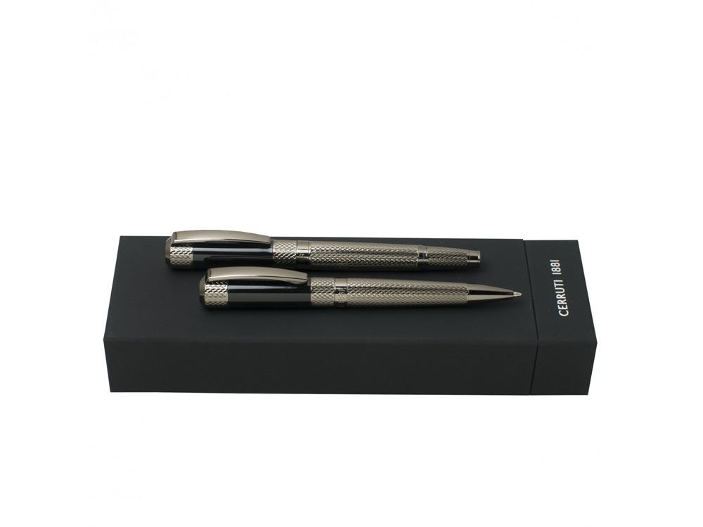 Подарочный набор SOTO: ручка шариковая, ручка-роллер. Cerruti 1881