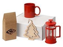 Подарочный набор с чаем, кружкой и френч-прессом «Чаепитие» (арт. 700411NY.01)
