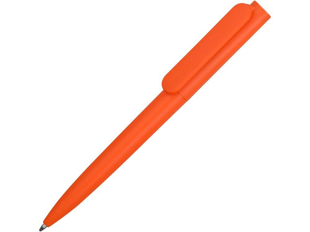 Ручка пластиковая шариковая Umbo, оранжевый/черный