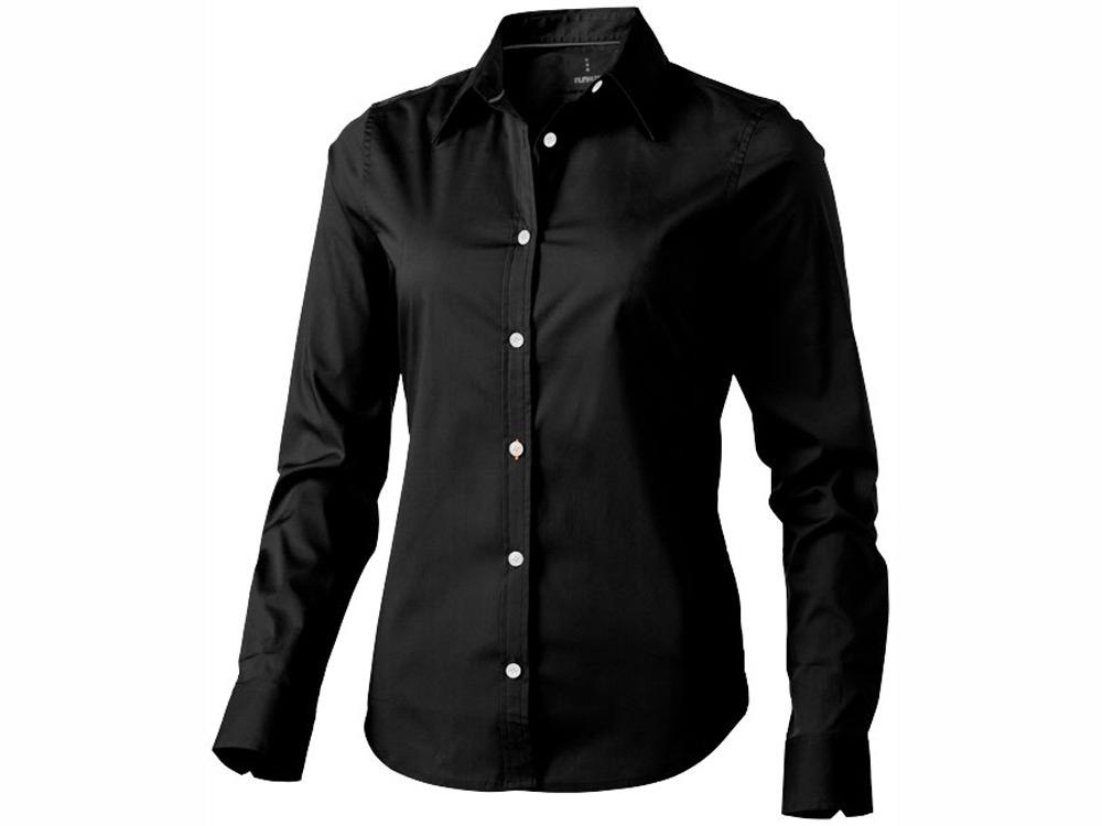 Рубашка Hamilton женская с длинным рукавом, черный