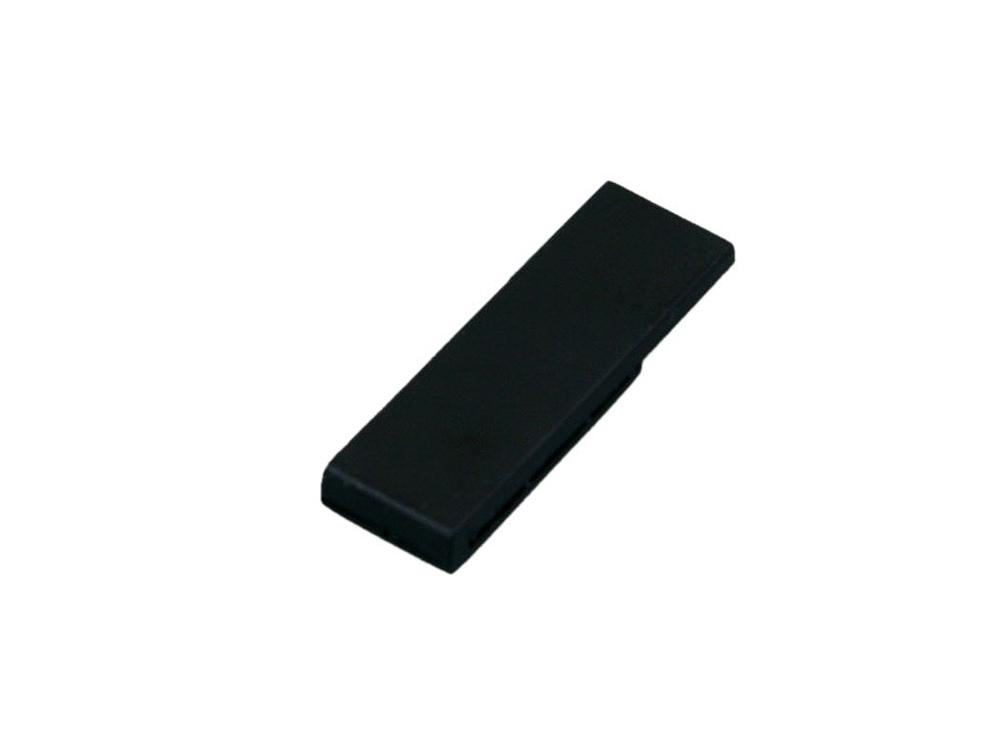 Флешка промо в виде скрепки, 32 Гб, черный