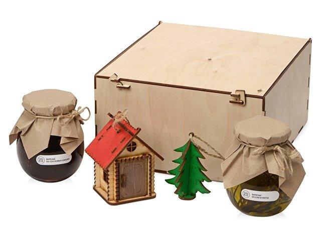 Подарочный набор «Decoration Deluxe» с двумя видами варенья, натуральный