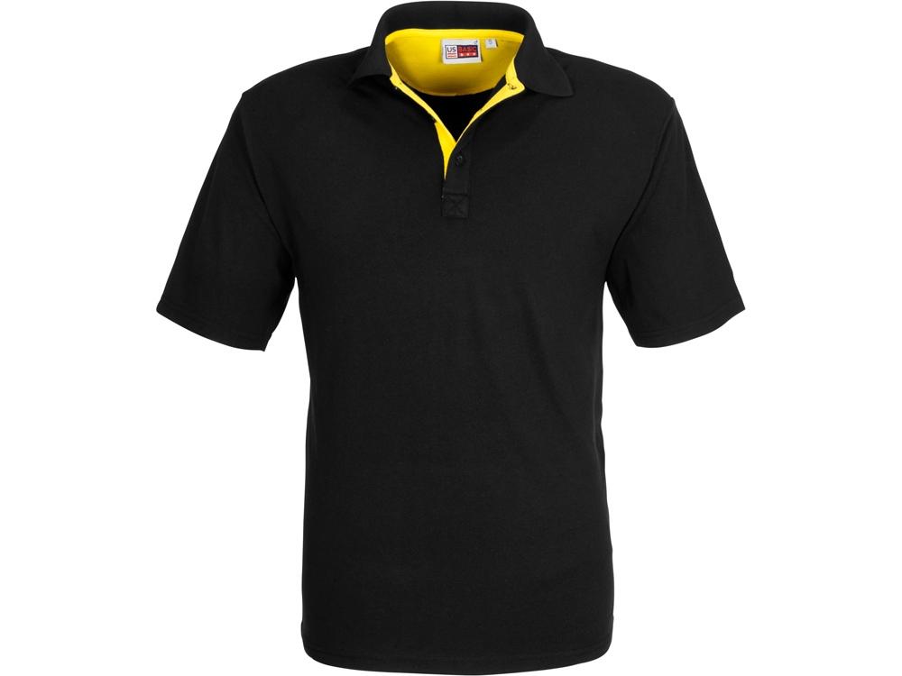Рубашка поло Solo мужская, желтый