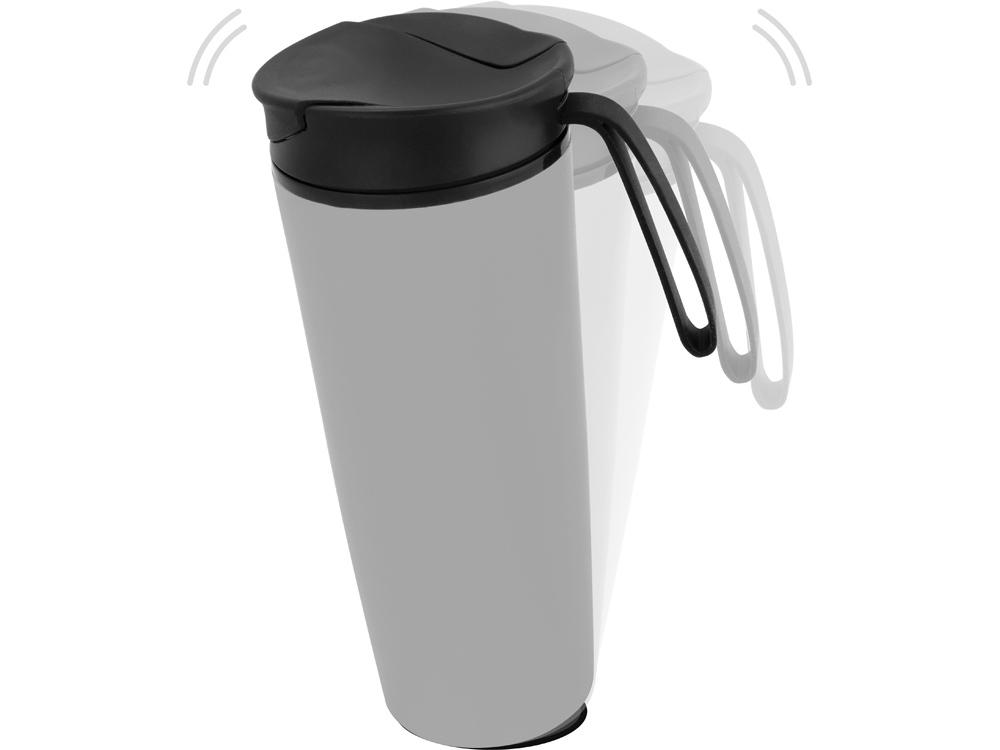 Термокружка Годс 470мл на присоске, серый