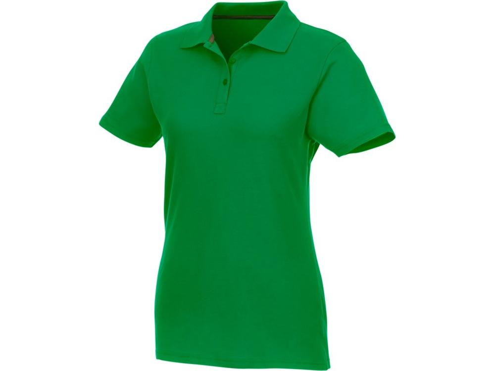 Женское поло Helios с коротким рукавом, fern green