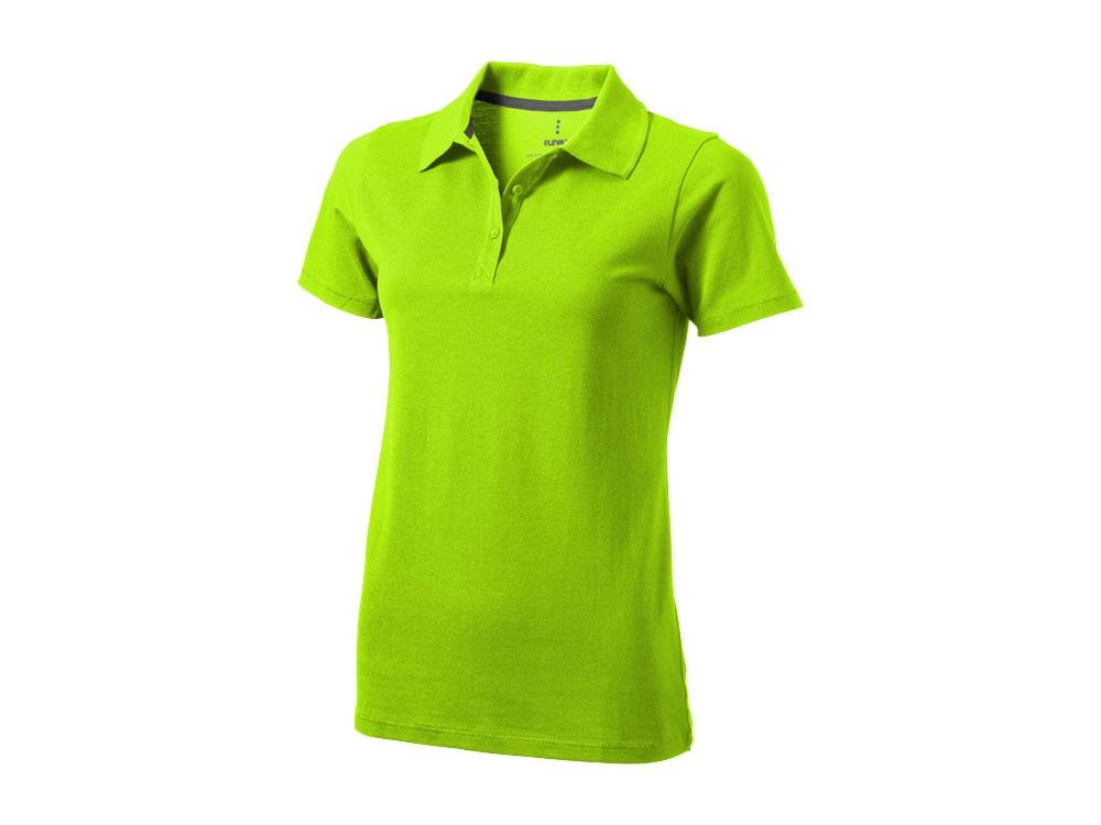 Рубашка поло Seller женская, зленое яблоко
