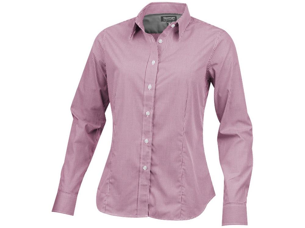 Рубашка Net женская с длинным рукавом, красный