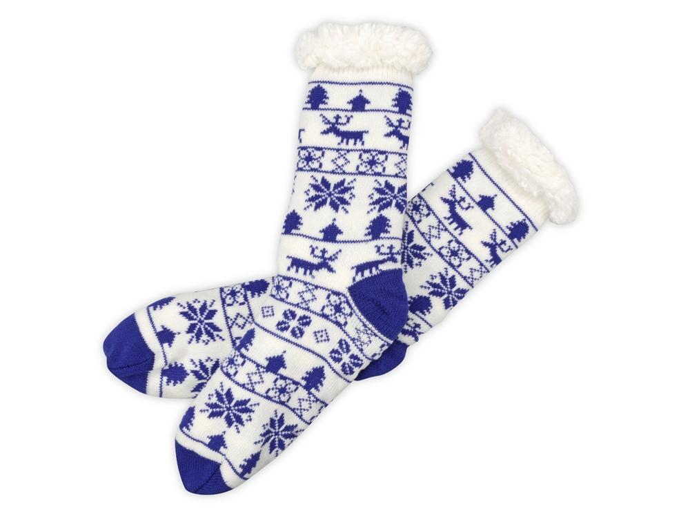 Домашние носки мужские, синий