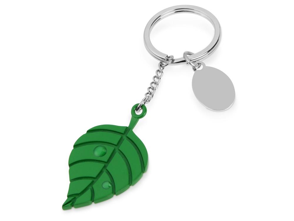 Брелок Листок, зеленый