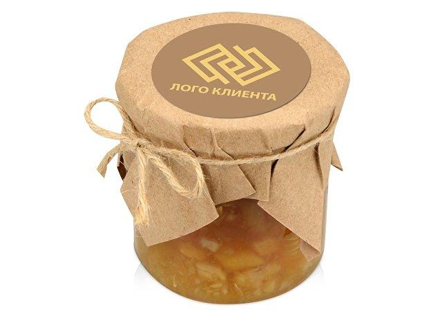 Варенье из кабачка с корнем имбиря и лимоном в подарочной обертке