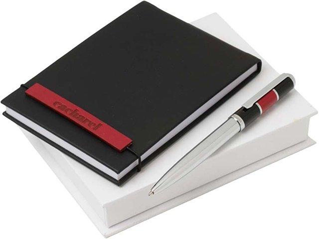 Подарочный набор: блокнот дизайнерский А6, ручка шариковая (арт. 60403)