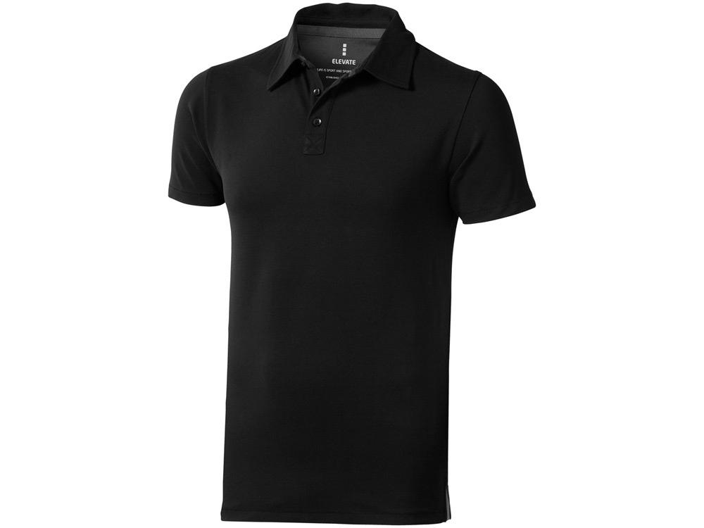 Рубашка поло Markham мужская, черный/антрацит