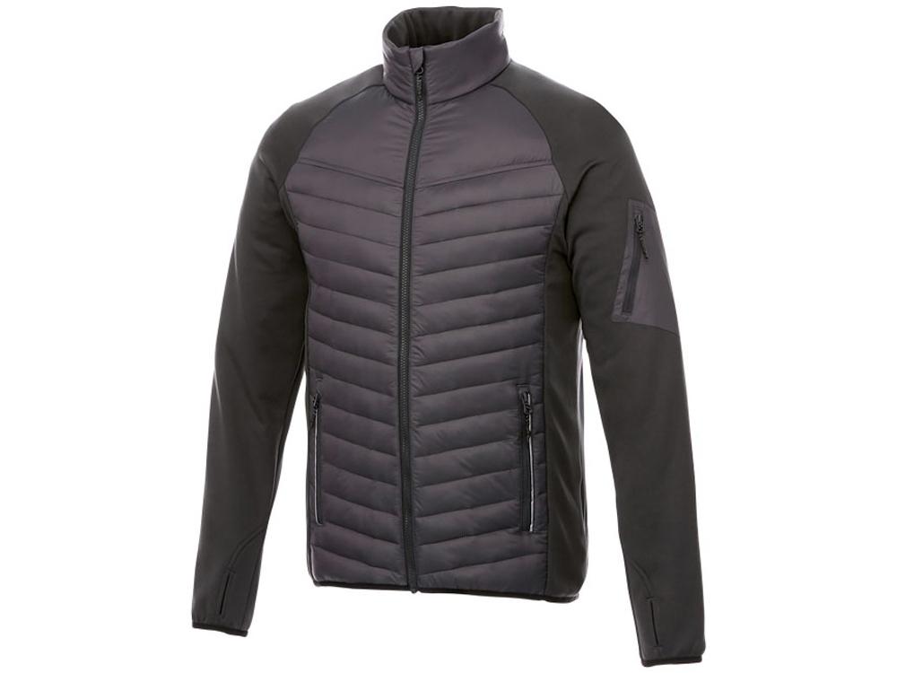 Утепленная куртка Banff мужская, серый графитовый