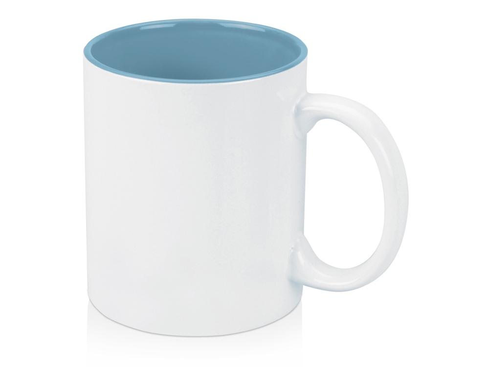 Кружка Gain 320мл, белый/голубой