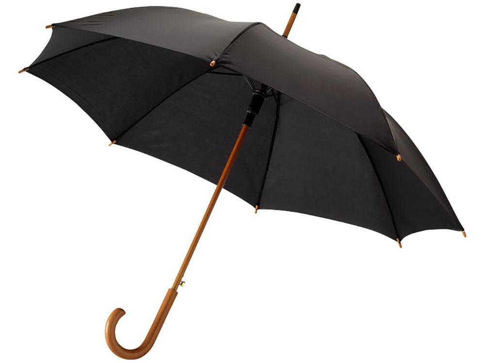 Зонт Kyle полуавтоматический 23, черный
