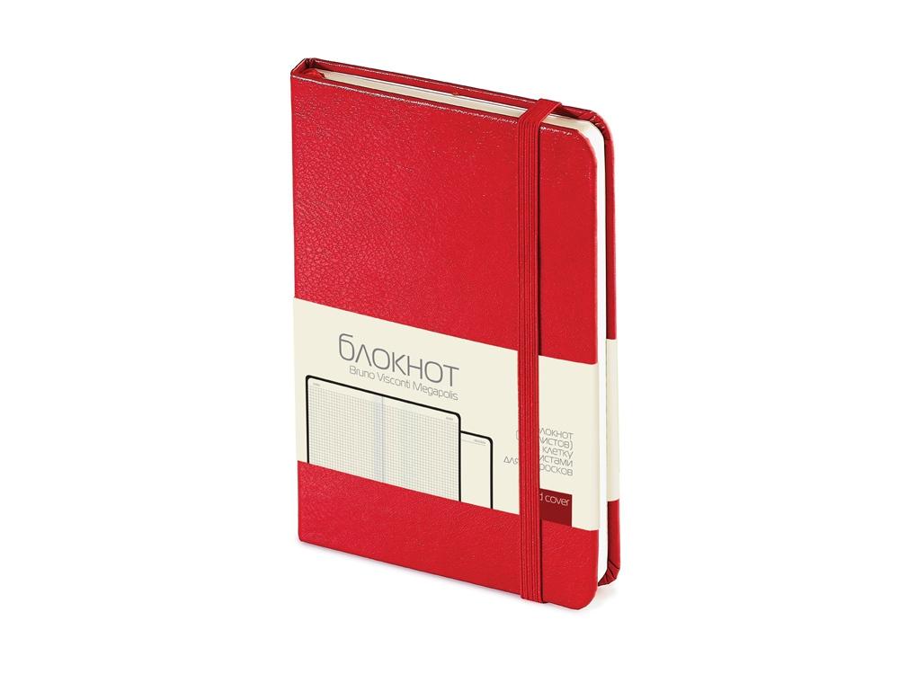 Блокнот А6 Megapolis Journal, красный