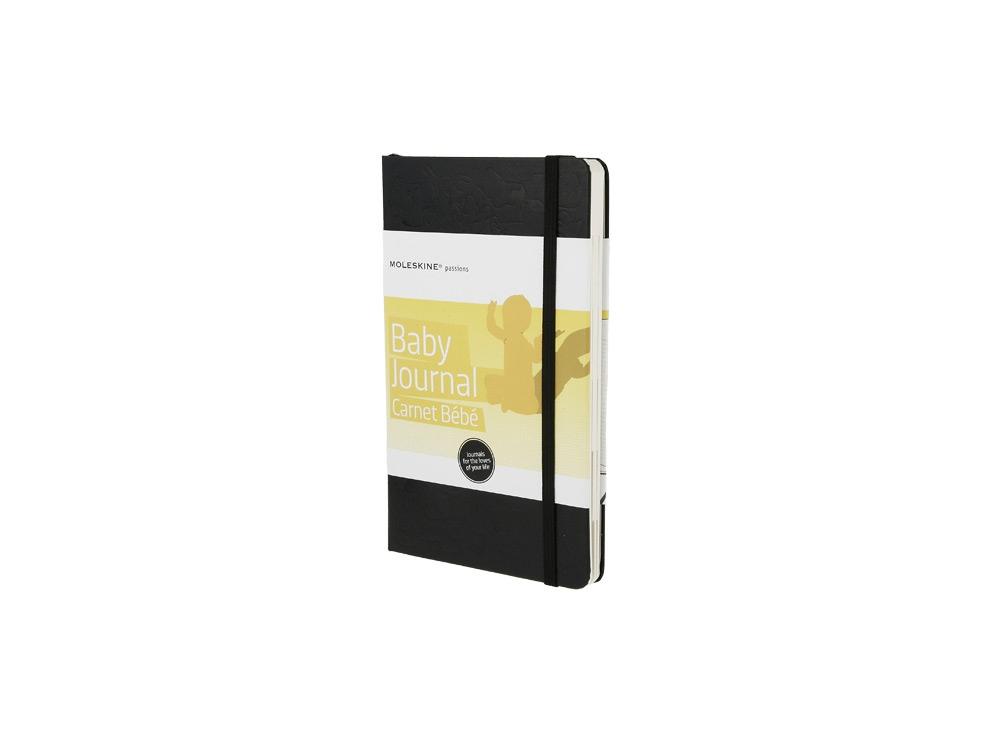 Записная книжка Moleskine Passion Baby (Ребенок), Large (13x21 см), черный