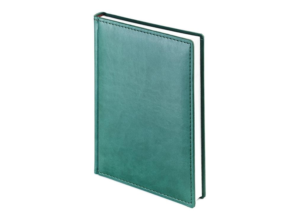 Ежедневник недатированный А4 Velvet, зеленый